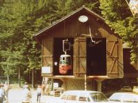 station aval, photo ancienne